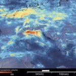 Distanciamento social derruba poluição no continente europeu
