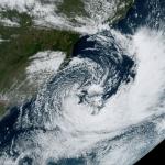 Ciclone trouxe vento de quase 100 km/h no Rio Grande do Sul