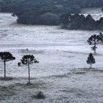 Santa Catarina tem mínimas negativas pelo segundo dia seguido