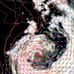 Novo ciclone extratropical trará vento e outra ressaca do mar