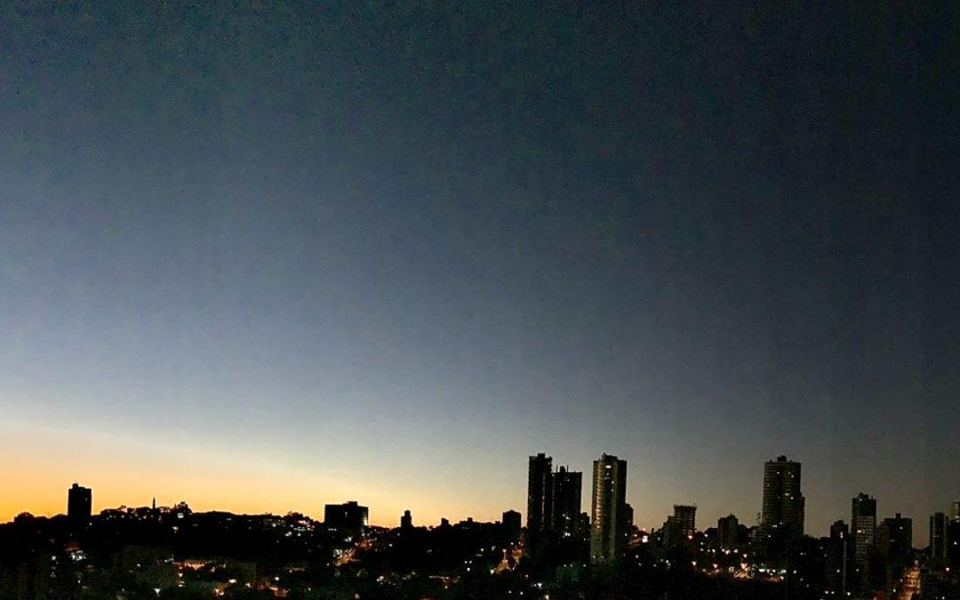 Frio de 3°C e geada na Grande Porto Alegre
