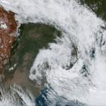 Ciclone traz vento acima de 80 km/h no Rio Grande do Sul