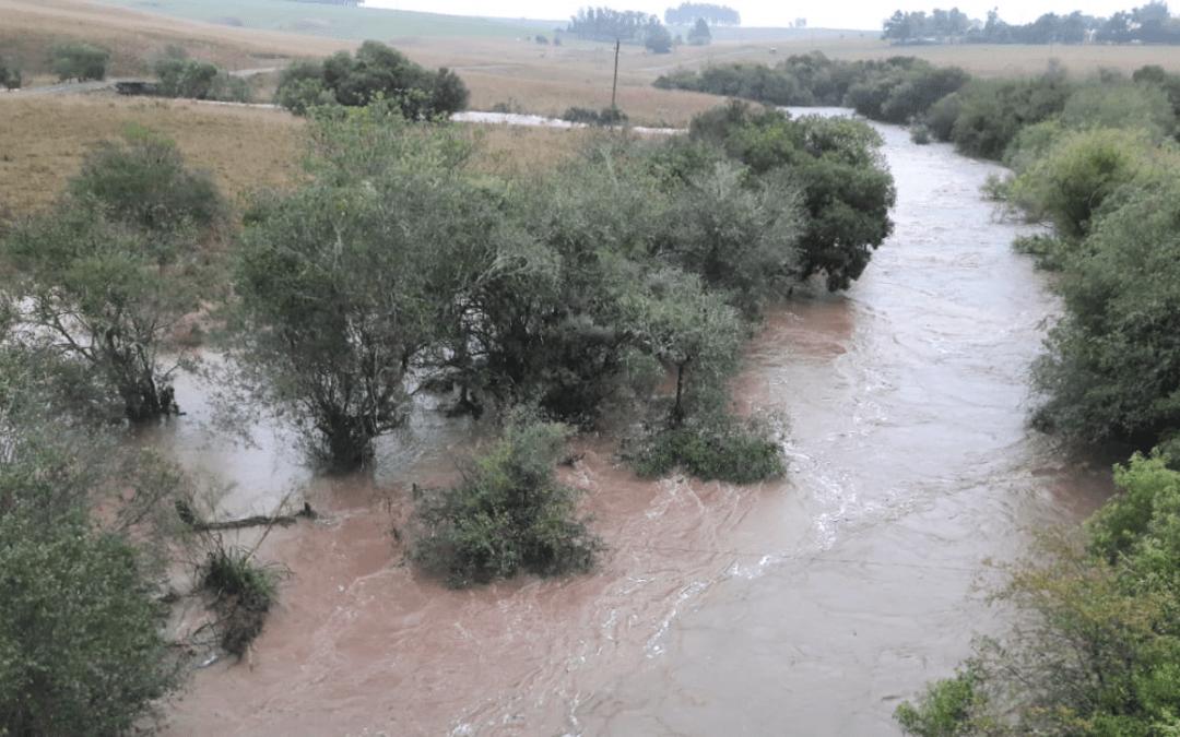 Maior chuva em meses em algumas regiões trouxe até 150 mm