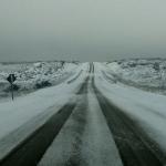 Ar polar traz neve na Argentina