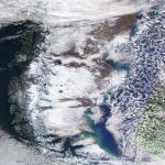 Muita neve e quase 17°C abaixo de zero na Argentina