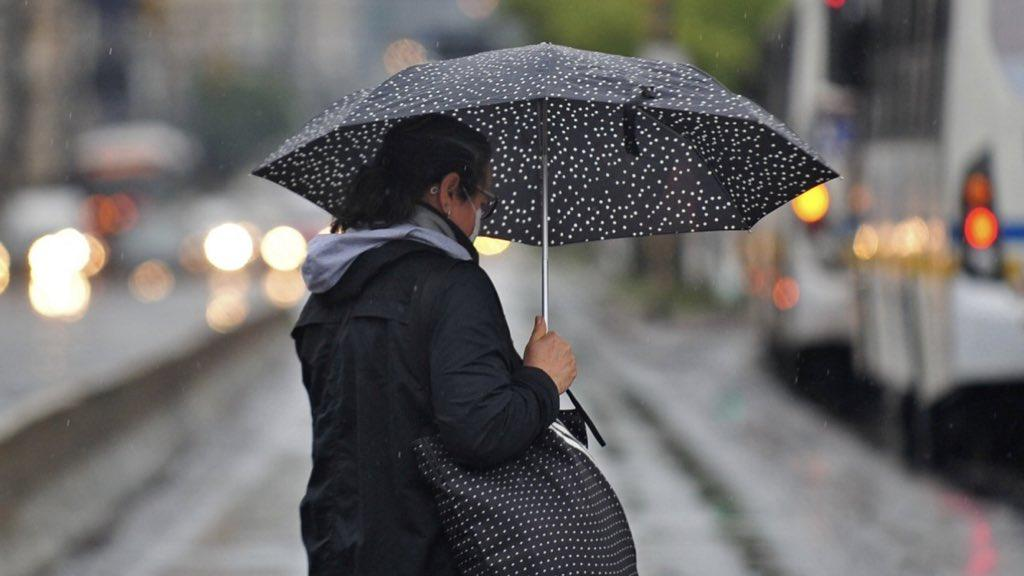 Chuva alcança 100 mm em Porto Alegre