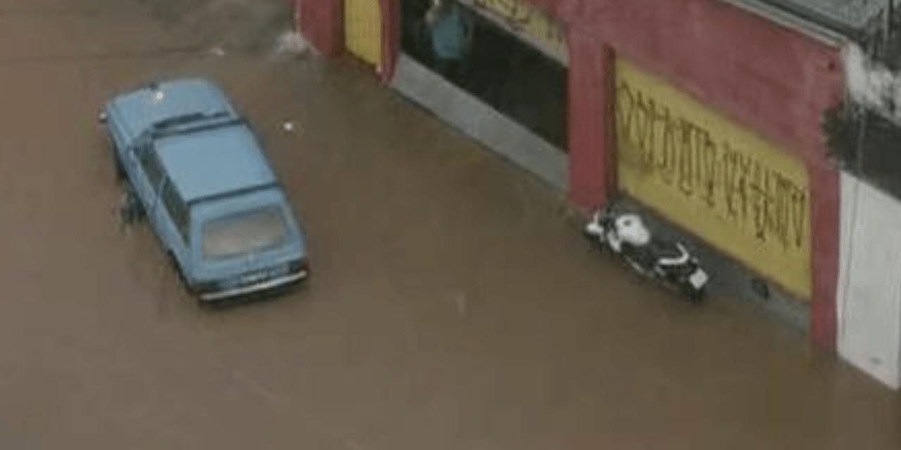 **ALERTA** Muita chuva em São Paulo