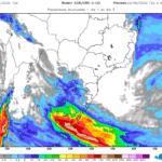 Muitas tormentas e risco de inundações no Uruguai