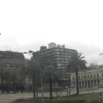 Chuva forte e vento no Uruguai