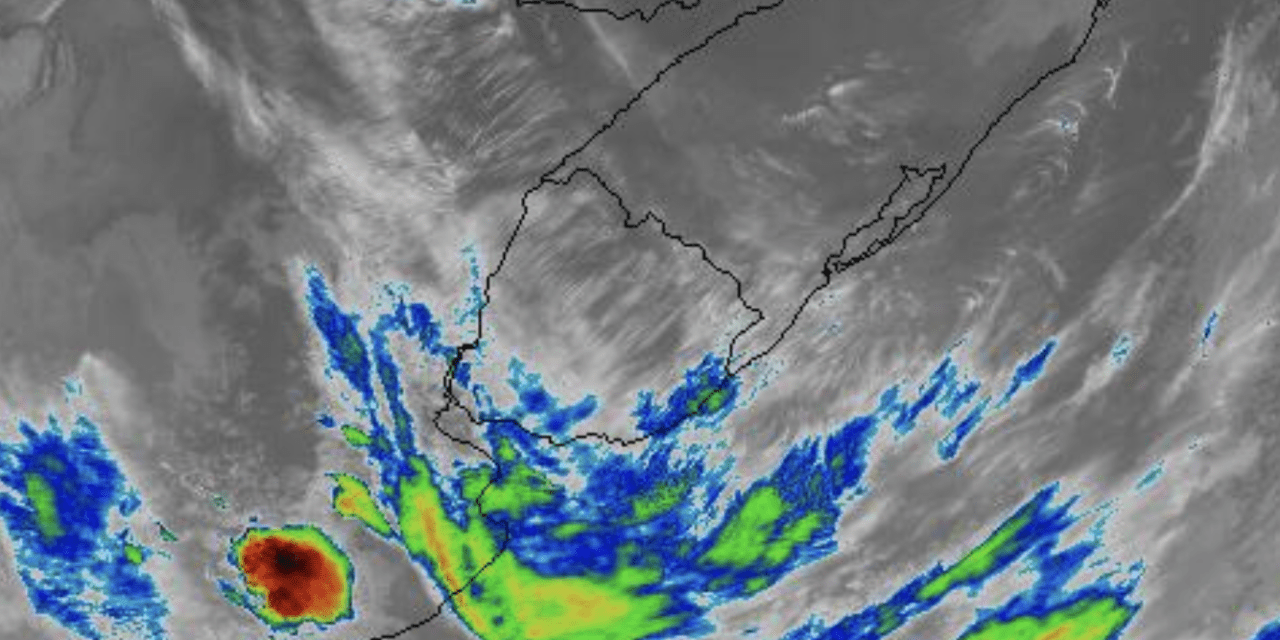 Frente fria traz chuva e tormentas no Uruguai e Argentina