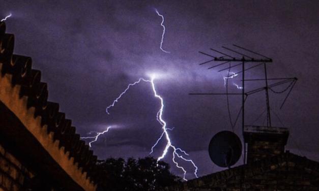 Novo alerta de chuva forte e tormentas no Uruguai