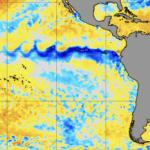 Pacífico Equatorial entrando em modo de La Niña