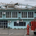 Intensa ventania de Norte traz estragos no Rio Grande do Sul