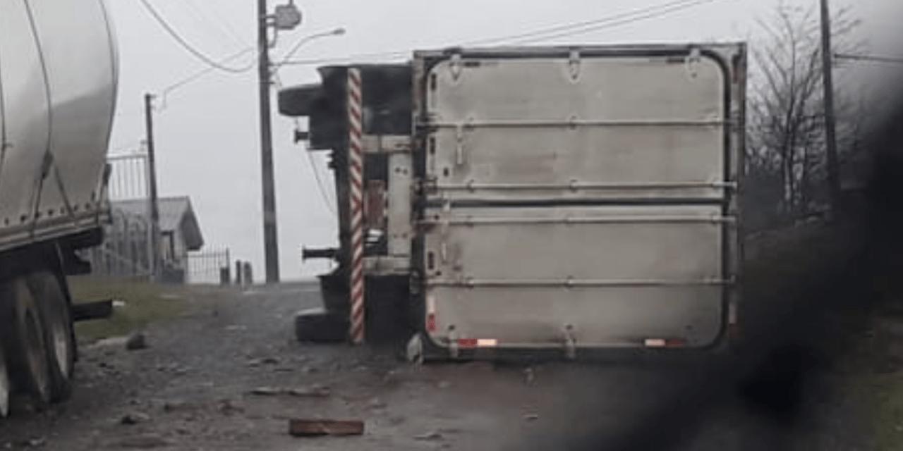 Formação de ciclone bomba trouxe vento destrutivo