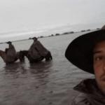 O pampa virou lagoa