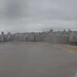 Chuva frequente no Uruguai