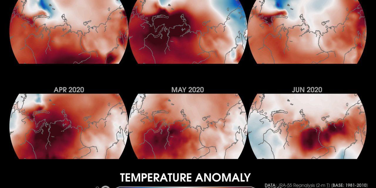"""Calor histórico na Sibéria seria """"impossível"""" sem mudanças do clima pelo homem"""