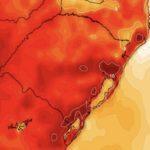 Prolongado período de calor no Sul do Brasil