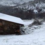 Neve cobre de branco Sul de Buenos Aires
