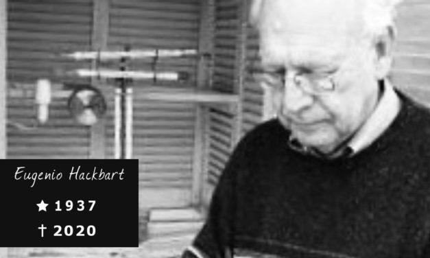 Comunicado de falecimento – Eugenio Jaeckel Hackbart