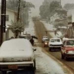 Há 30 anos, uma grande nevada no Sul do Brasil
