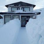 Neve de metros cobre localidade argentina – Veja imagens