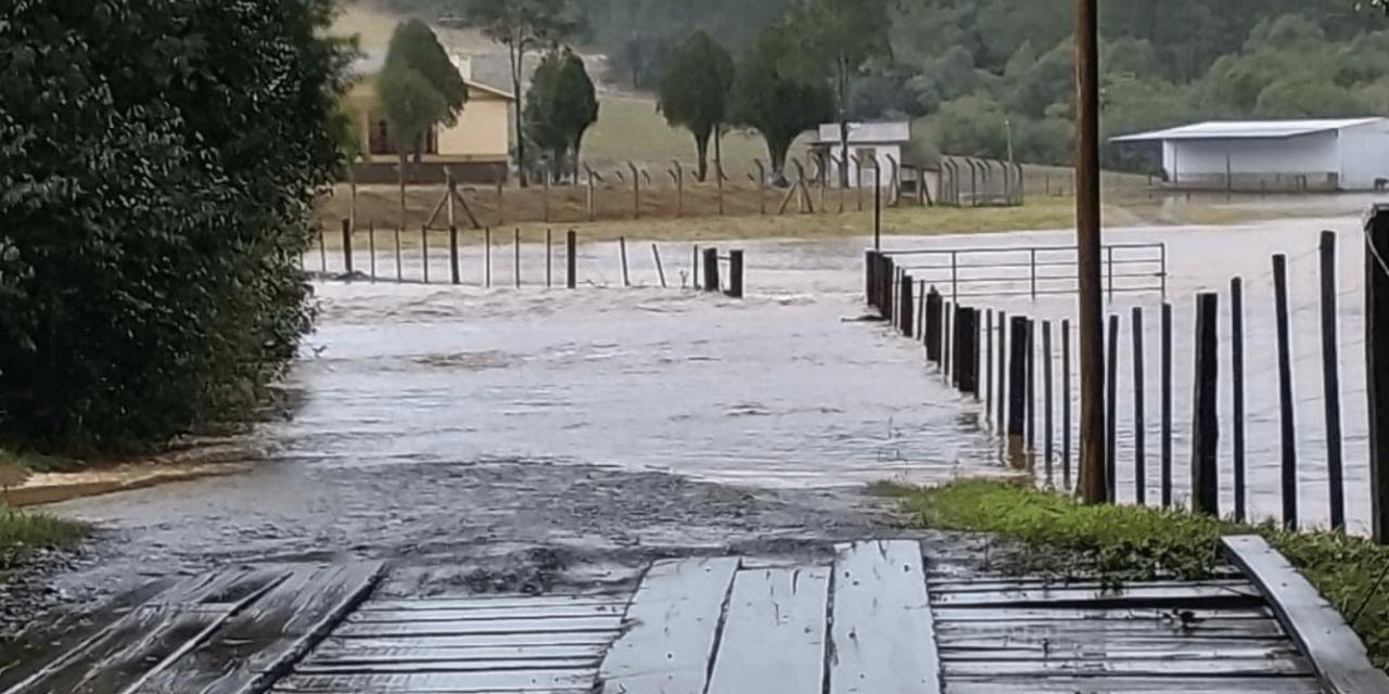 Chuva acima de 200 mm e inundações no Rio Grande do Sul