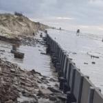 Ressaca do mar traz destruição no Litoral Norte gaúcho