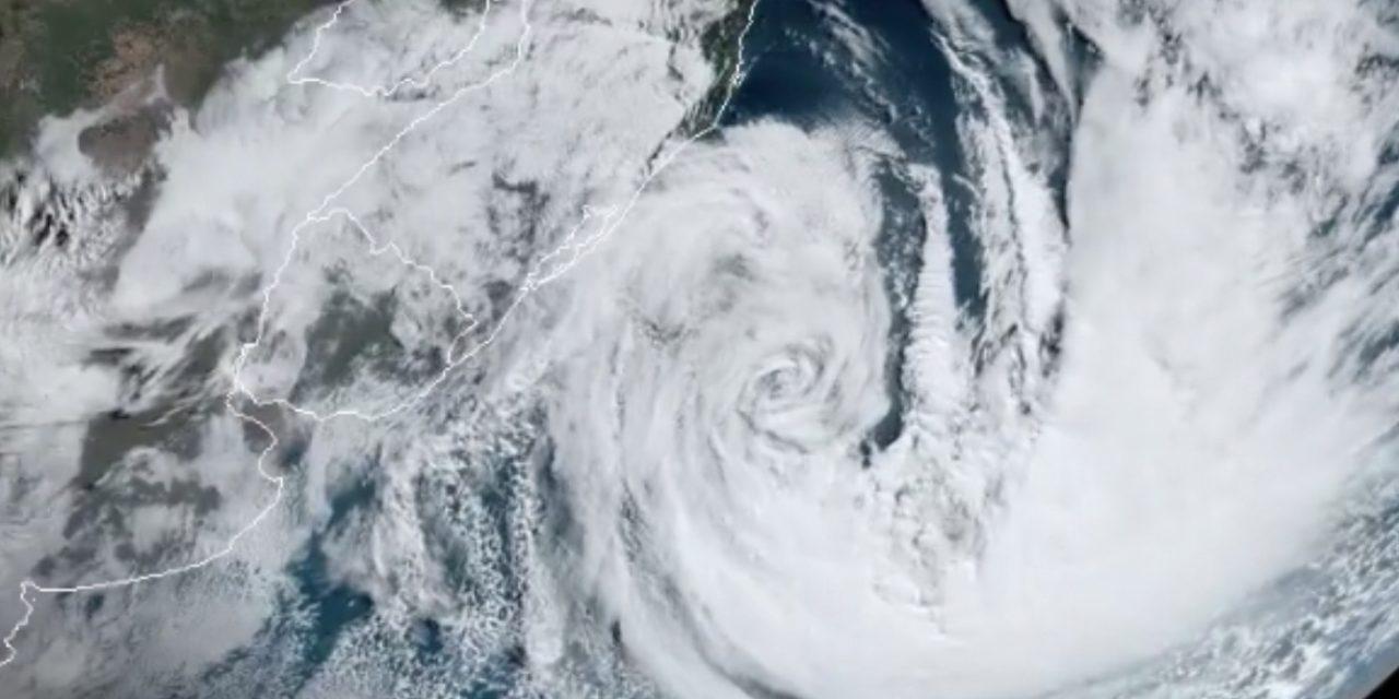 Vem aí um novo ciclone extratropical no Sul do Brasil?