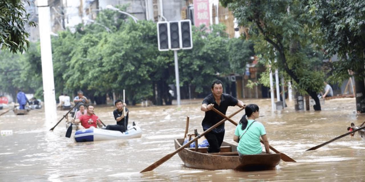 Dezenas de milhões atingidos por enchentes na China