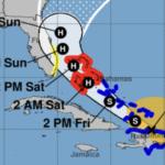 Furacão Isaias avança pelo Caribe e ameaça à Flórida