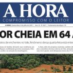Cheias históricas e o ciclone nas capas dos jornais de hoje