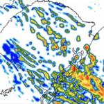 Frente fria traz instabilidade neste domingo
