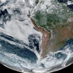 Previsão do tempo – Satélite mostra o tempo seco no Brasil