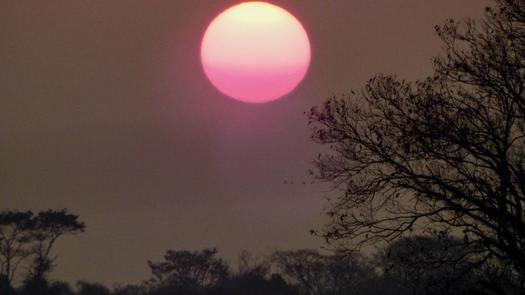 Quase 35°C no Rio Grande do Sul e 40°C na Argentina