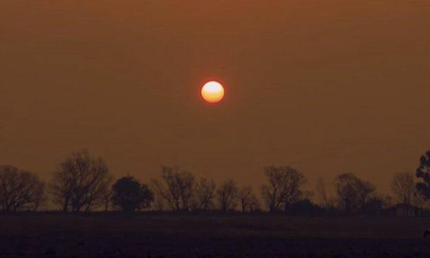 Desastre ambiental na Argentina por queimadas