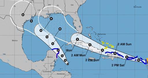 Dois furacões em apenas 48 horas