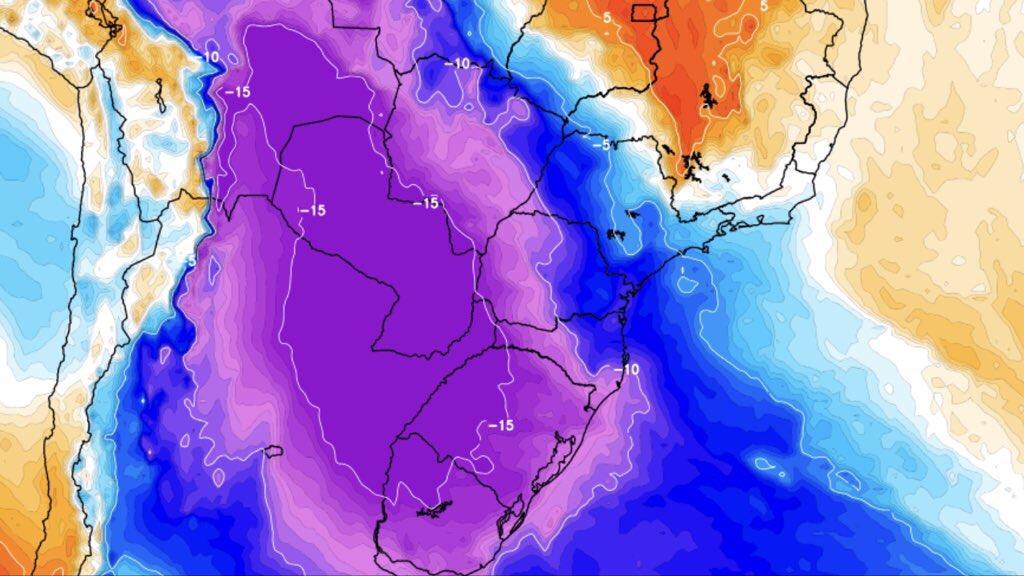 Previsão do tempo – Semana terá neve, muito frio e chuva