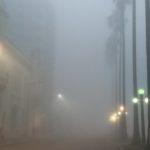 Previsão do tempo – Bloqueio favorece dias com nevoeiro