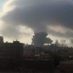 Entenda a nuvem formada pela explosão em Beirute no Líbano