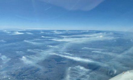 Imagens aéreas mostram muitas queimadas no Norte gaúcho