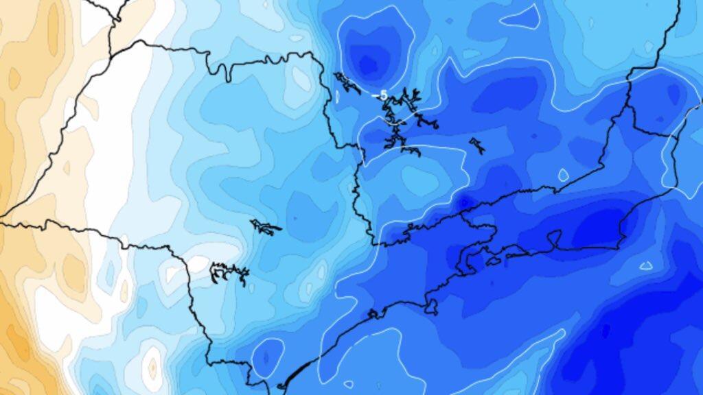 Previsão do tempo – Sudeste segue com noites frias