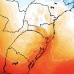 Como pode ter feito -8°C em SC e -3°C no RS com ar mais quente?
