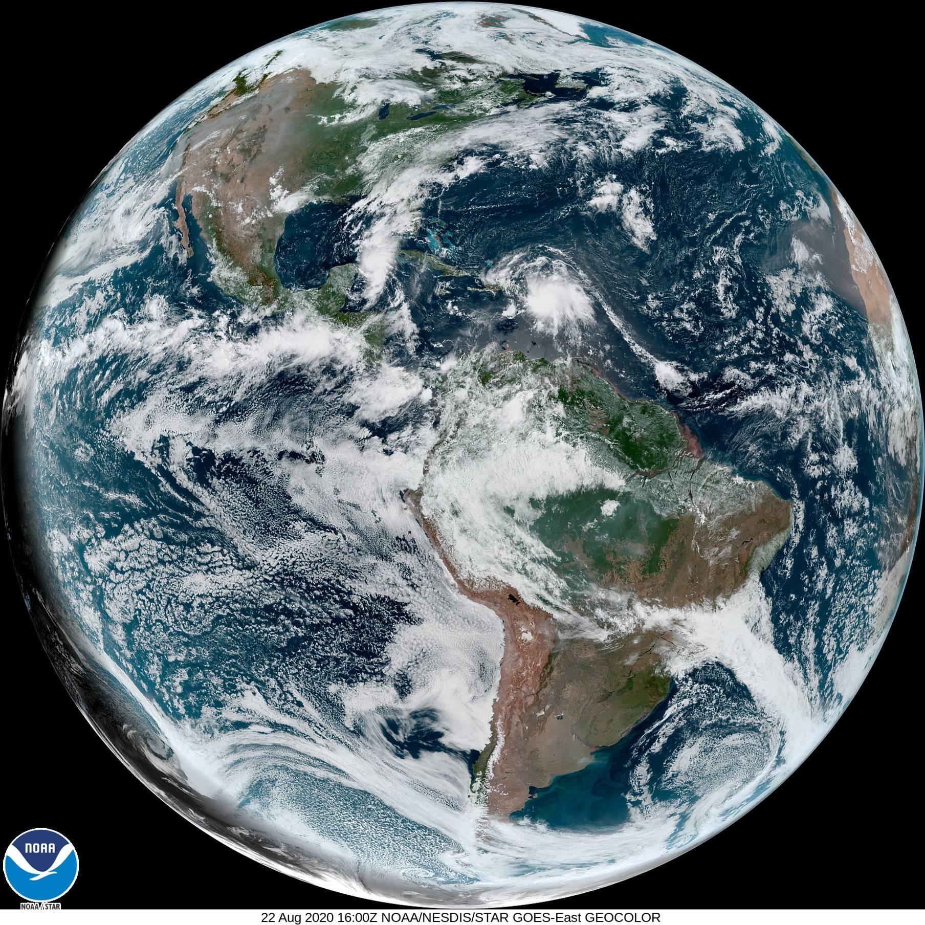 Previsão do tempo – América do Sul neste sábado