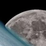 A incrível imagem da Lua e da Terra