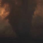 Primeiro alerta de tornado de fogo da história nos EUA