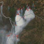 Fumaça de grandes queimadas no Mato Grosso chega ao Rio Grande do Sul