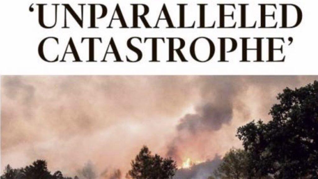 """Catástrofe sem paralelo"""