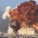 Explosão em Beirute foi captada em três continentes