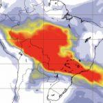 Fumaça pode trazer chuva preta em São Paulo e no Rio de Janeiro
